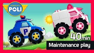 Maintenance Special play for Kids   40min   Robocar Poli Game