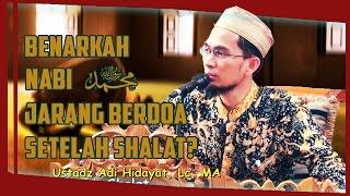 download lagu Benarkah Rasulullah ﷺ Jarang Berdoa Setelah Shalat?  Ustadz gratis