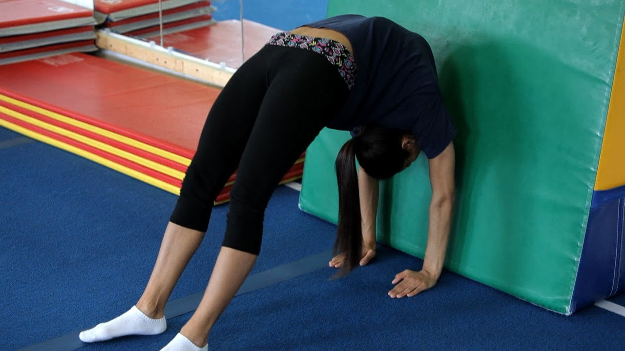 Back Walkover How to do Back Walkover Drills