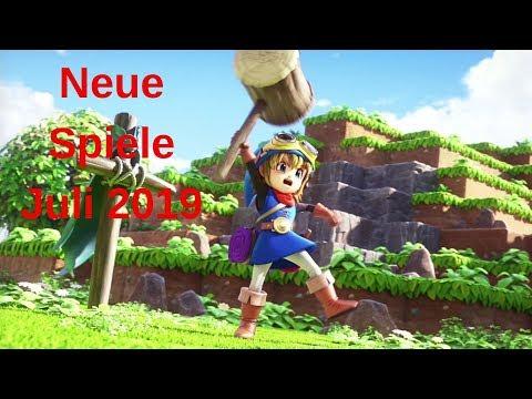 Neue Spiele Juli 2019 - PC, PS4, Xbox One & Nintendo Switch | New Games July 2019