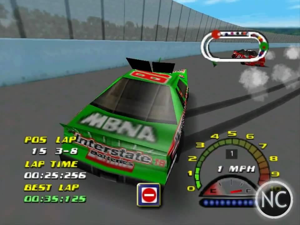 Classic Gameplay Nascar 2000