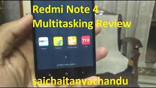 Redmi Note 4 Multitasking Review