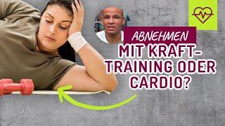 abnehmen cardio oder krafttraining