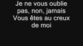 Watch Celine Dion Je Ne Vous Oublie Pas video