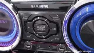 Samsung MX-HS8000 short soundtest