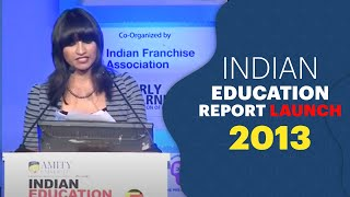 Indian Education Report Launch 2013