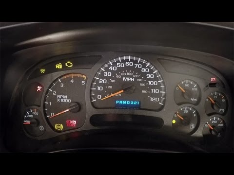 How To Fix Electronic Issues In The Instrument Cluster Of An '03-'07 GM Truck