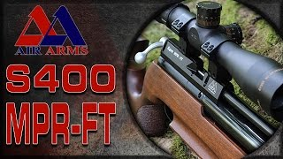 Air Arms S400 - Air Gun Shooting & Gun Review