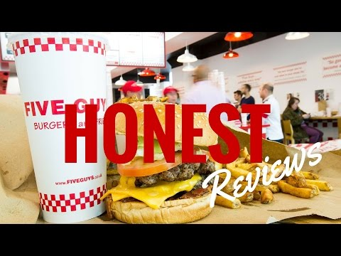 Honest Five Guys Burgers and Fries Review