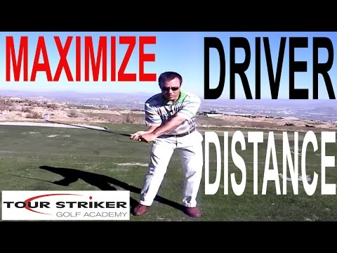 How to maximize your driver distance