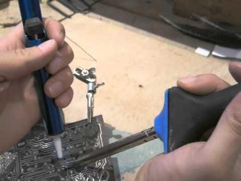 Déssouder un composant électronique cms