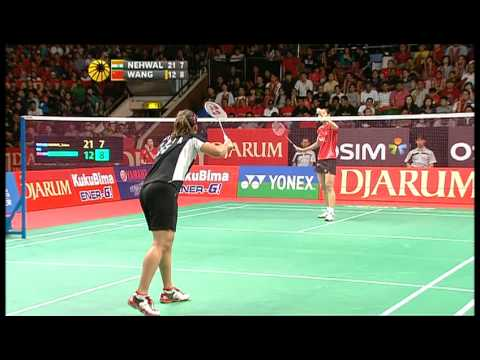 F - WS - Saina Nehwal vs. Wang Yihan - 2011 Djarum Indonesia Open