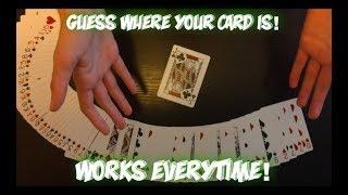 On Impulse: Easy To Learn IMPOSSIBLE Card Trick Performance And Tutorial!
