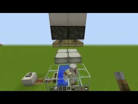 Minecraft Iron Golem Powered Invisible Pressure Plate