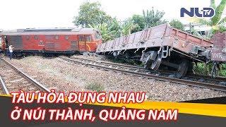 Vụ 2 tàu hỏa đâm nhau ở Núi Thành, Quảng Nam: Đưa xe cẩu từ TP HCM ra giải cứu