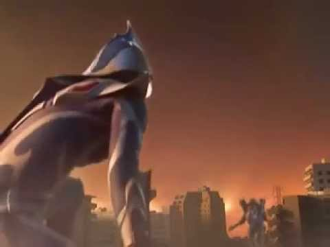 Ultraman Nexus And Night Rider VS Megaflash And Galberos.