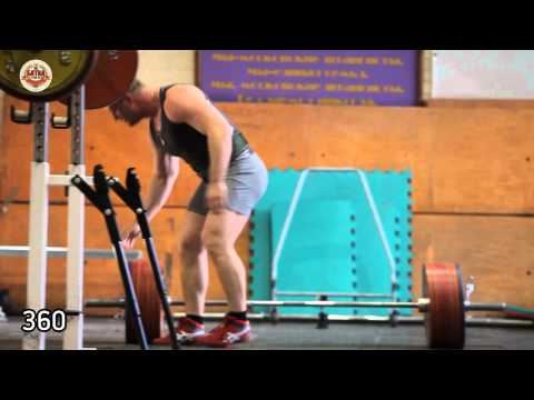 Konstantin Pozdeev   training the deadlift and bench press Image 1
