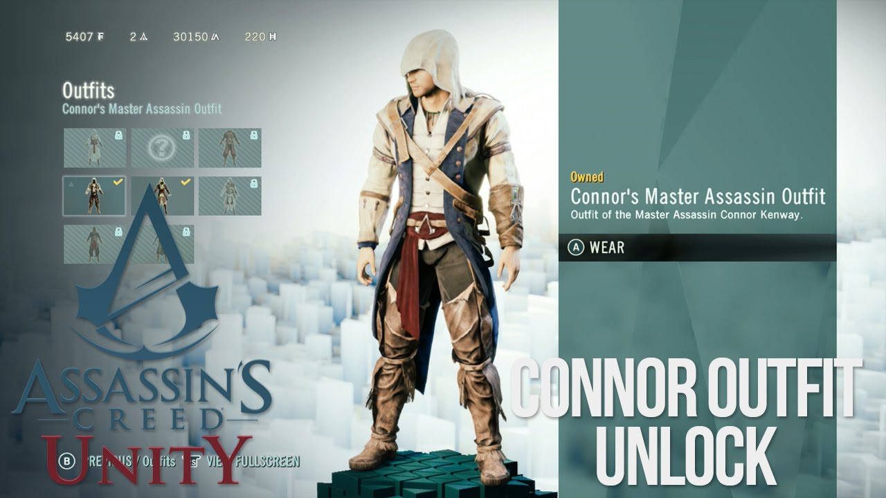 Connor Kenway Alternate Outfits Connor Kenway Outfit