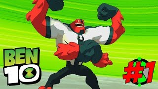 NEW BEN 10 GAME IS AWESOME | Ben 10 The Game Gameplay PART 1
