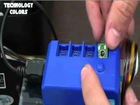 Instalacion del sistema de tinta para epson tx125