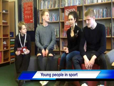 BBC News Report   Young People in Sport BBC Video Export