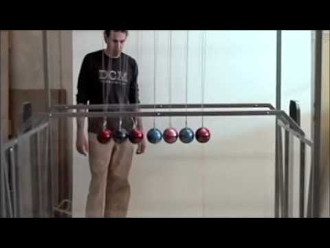 Giant Newton s Cradle