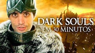 ZERANDO Dark Souls em 31 minutos, RECORDE MUNDIAL insano - REACT