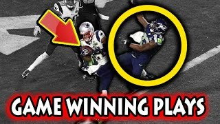 Greatest Game Winning Plays in Football History