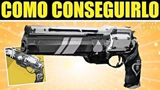 Destiny 2: COMO CONSEGUIR EL EXÓTICO AS DE PICAS | Guía Completa