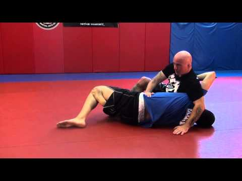 No Gi Jiu Jitsu Pass - Top Half Guard Escape -  Near Side Varation Image 1