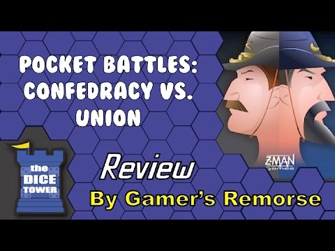 Pocket Battles: Confederacy vs Union Review - with Gamer's Remorse