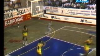 Basquetebol :: Illiabum - 73 x Sporting - 76 de 1988/1989