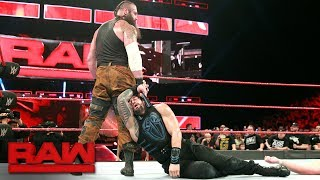 Braun Strowman tears up the road to SummerSlam: Raw, July 17, 2017