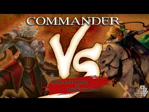 Commander Versus Series: Melek, Izzet Paragon (David McDarby) vs Tolsimir Wolfblood (Danny West)