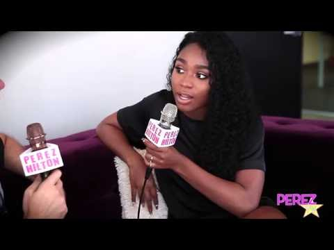 Normani Kordei From Fifth Harmony Chats With Perez Hilton! (Exclusive)