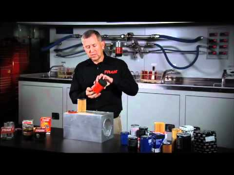 The truth about oil filter end caps FRAM Filtration