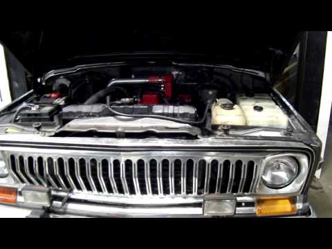 Cummins Diesel 4BT Conversion - Fullsize Jeep Wagoneer