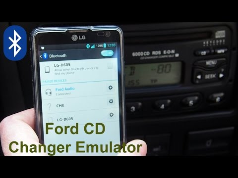 Ford CD Changer Emulator with Bluetooth functions (aftermarket)