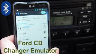 Ford CD Changer Emulator with Bluetooth functions (aftermarket) - Ford Audio