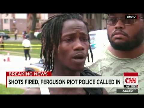CNN Report: Michael Brown's Shooting, St. Louis Missouri - August 12, 2014