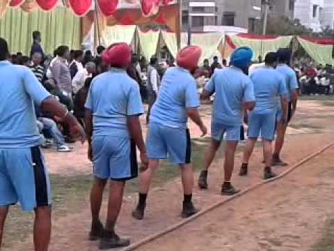 Tug of war Match Punjab Power And Haryana Power