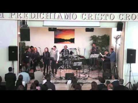 MOMENTI DI CIELO:APRICENA 25 APRILE 2012= 1 CONVEGNO MUSICA CRISTIANA