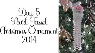 Day 5 of 10 Days of Christmas Ornaments with Cynthialoowho 2014!
