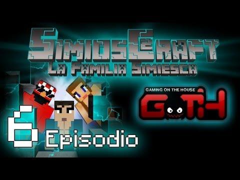SimiosCraft 2 Ep.6 Los Hijos de SimioLandia Minecraft en Español GOTH