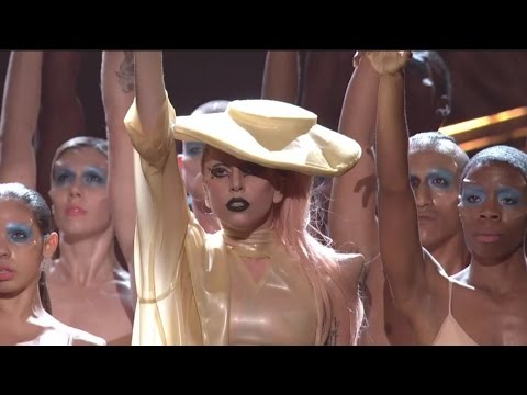 Lady Gaga - Intro, Highway Unicorn & Born this Way (HD) Auckland, New Zealand. 7th June 2012