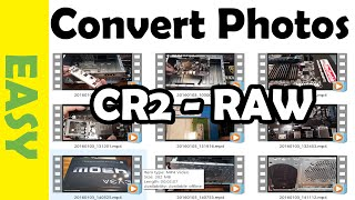 How to Batch Convert CR2 RAW Images Into JPG, Tiff, or PSD Using Photoshop
