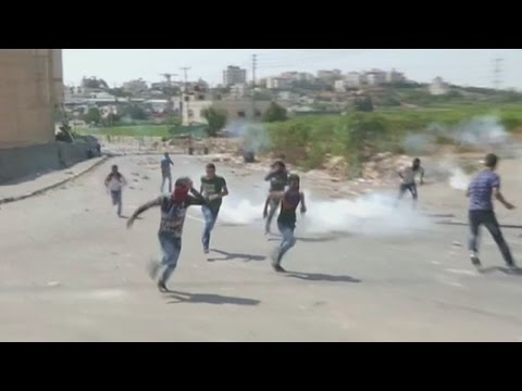 Palestinian boy shot in the heart in clashes with Israelis
