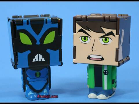 Ben 10 Toys AlterAlien Ultimate Alien Toy Review Unboxing ** SPOILERS **
