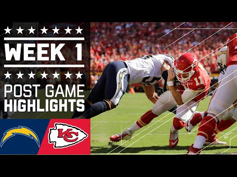 Chargers Vs Chiefs Nfl Week 1 Game Highlights