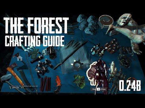 Как сделать repair tool в the forest 577